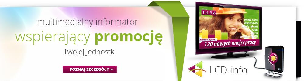 LCD Info - Multimedialny informator w Twojej jednostce